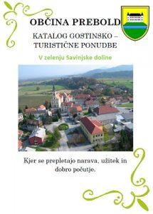 Občina Prebold: katalog gostinsko-turistične ponudbe